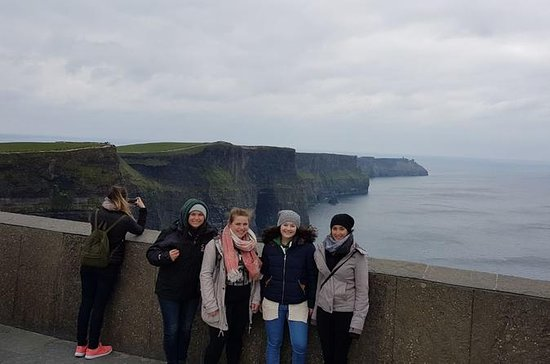 Dublin to Galway,Cliffs of Moher...