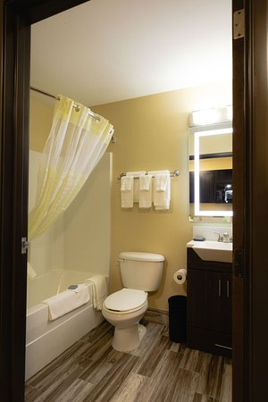 Hawthorn Suites by Wyndham St. Robert/Ft. Leonard Wood: Guest room bathroom