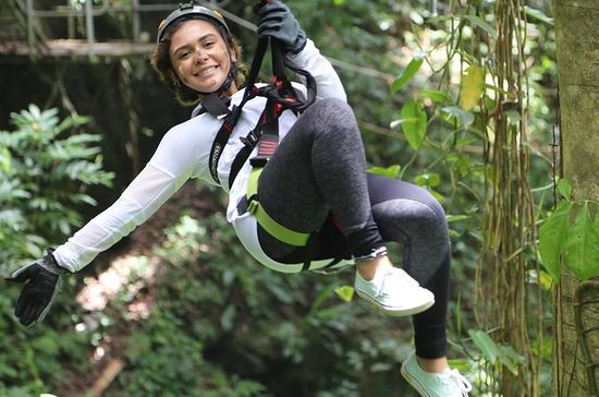 JungleQui Zipline Adventure from San...