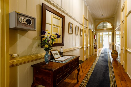 Bowen Terrace Accommodation: Main Hallway Guestbook
