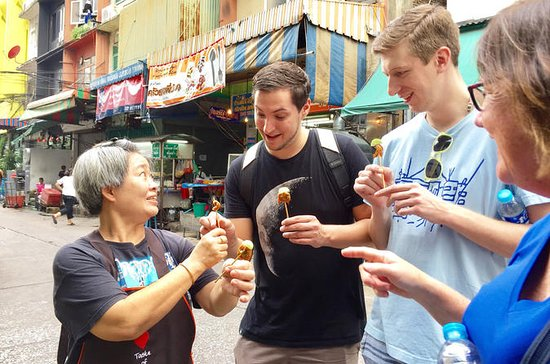 Bangkok dégustation de nourriture...