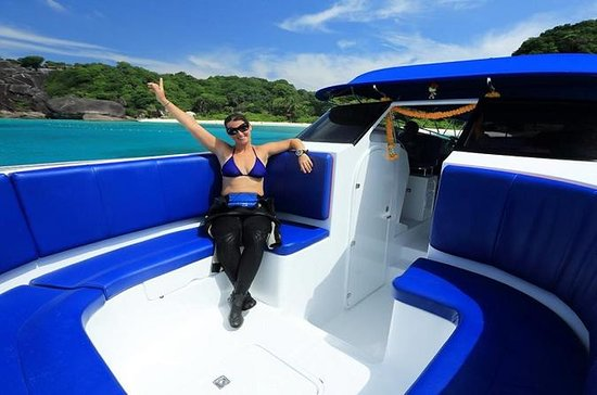 Similan Islands Day Tour da Phuket in