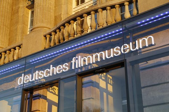 German Film Museum Frankfurt Entrance...