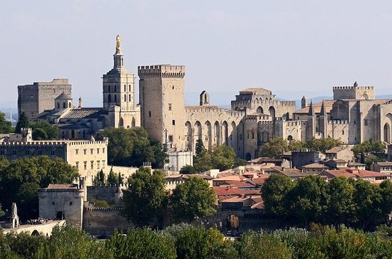 Full privat dag Avignon Chateuneuf du...