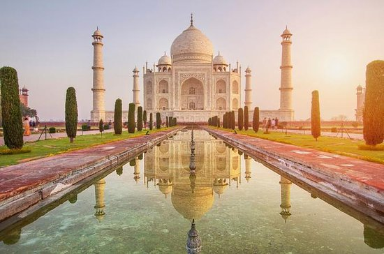 Private Taj Mahal & Agra Fort Tour from...