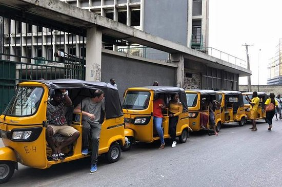 Lagos Island Tour By Keke