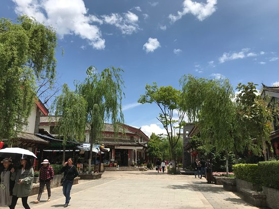 Shuhe Ancient Town: 束河古鎮