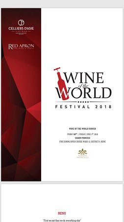 WINE OF THE WORLD EVENT