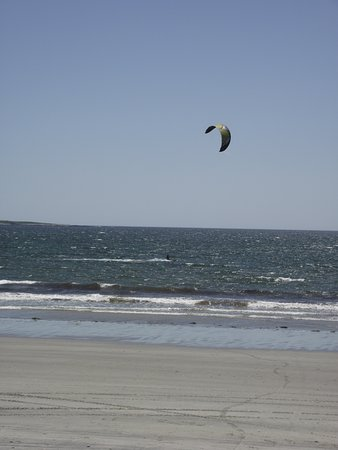 Me Scarborough Pine Point Beach 2 Kiteboarder Ping By