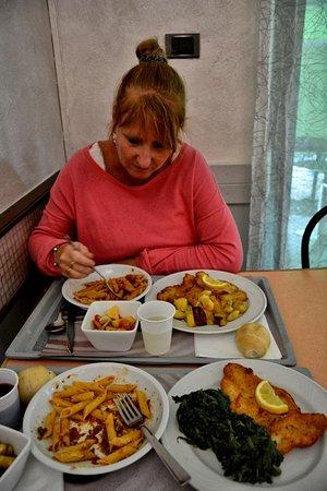 Volpiano, Włochy: Selfservice maar wel top eten!