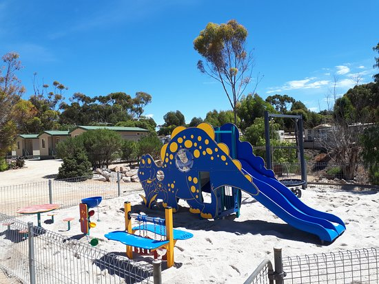 Ardrossan, Australia: Playground on the Dinham Road side of the Park