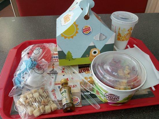Parco Commerciale Gli Orsi: menù al Burger King