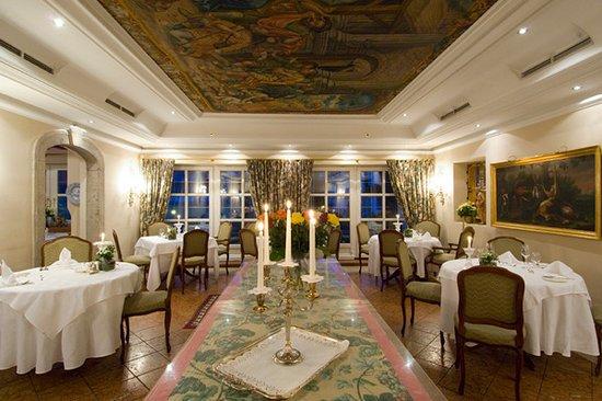 Zell im Zillertal, النمسا: Residenz-Restaurant - sehr elegant