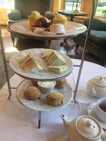 The Henley Park Hotel: The English Tea offered at the hotel.