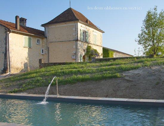 Les Deux Abbesses en Vert BnB Dordogne照片