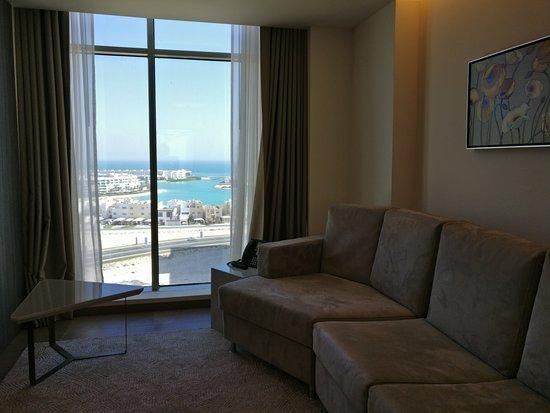 جزر أمواج, البحرين: المنظر من الصالة