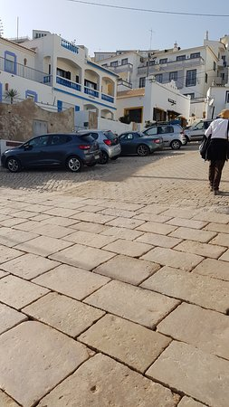 Burgau, Portugal: parking