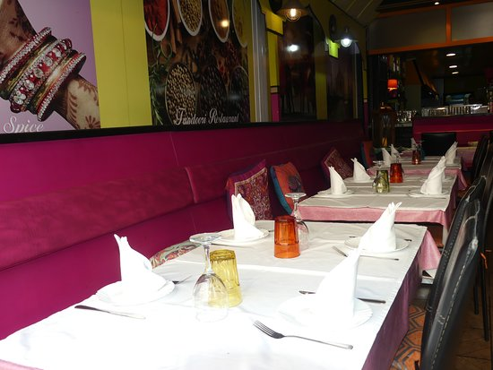 Indian Spice: table 1