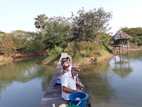 Faasai Resort & Spa: Our organic farm and nature sanctuary at White Water Lake
