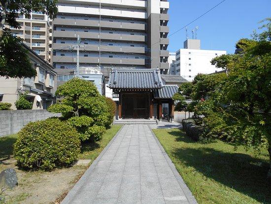 Jodoji Temple: 境内から眺めた山門
