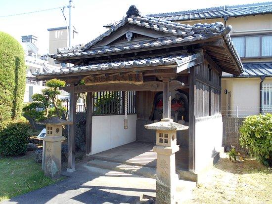 Jodoji Temple: 八兵衛地蔵が祀られていた堂