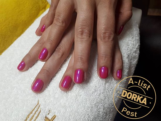 A-list Salon & Spa: Manicure (gellac) by Dorka, Hand and Foot Care Specialist, A-list Pest