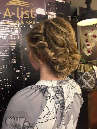 A-list Salon & Spa: Braided hairstyle