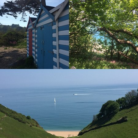 Strete, UK: within walking walking distance