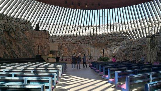 Ναός του Βράχου: Inside
