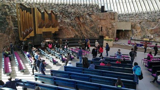 Ναός του Βράχου: Organ