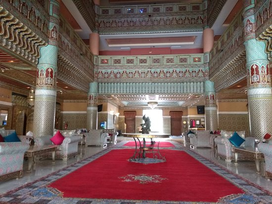 Royal Mirage Deluxe Marrakech: Hotel Lobby