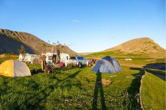 Patreksfjordur, Исландия: On ground