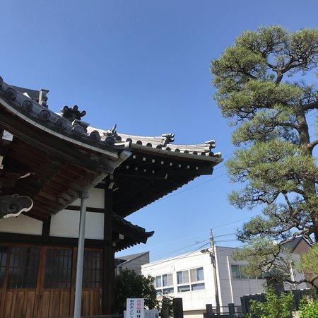 Myoanji Temple: 隅棟の鬼飾り