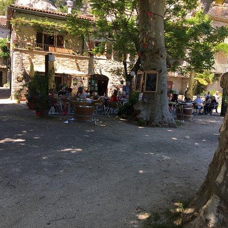 Labeaume, ฝรั่งเศส: Restaurant Le Sablas