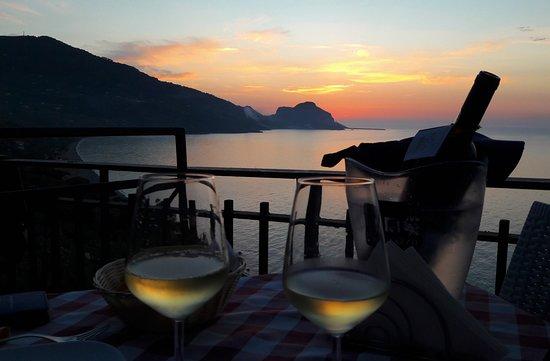 Abendessen in der Osteria Bacchus, ein Traum!