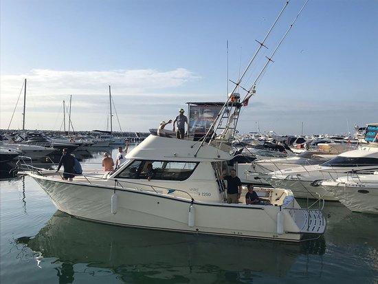 Red Tide Charter: marbella boat fishing trip hen party children fishing puerto banus costa del sol