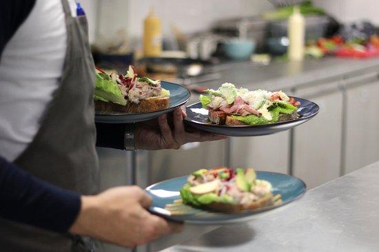 Driebergen, The Netherlands: Lekkere lunch bij Koek & ei