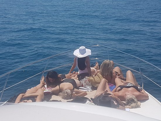 Red Tide Charter: marbella boat fishing trip hen party children fishing puerto banus costa del sol