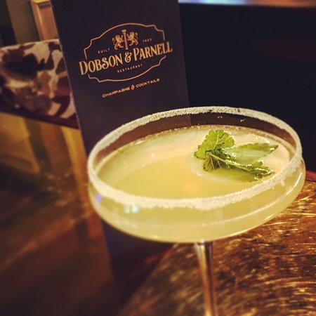 Dobson and Parnell: Elderflower Cosmopolitan at Dobson & Parnell