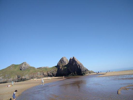 Three Cliffs Bay 4 - Little Cave