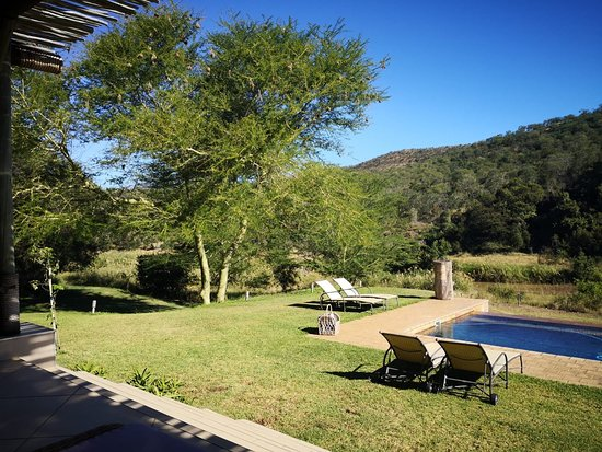 Pongola, South Africa: outside the spa