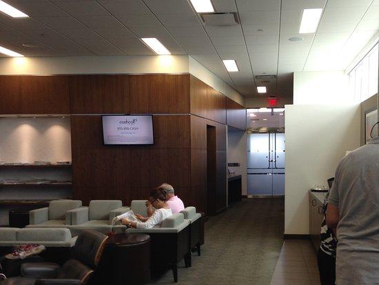 British Airways: Tampa BA business lounge