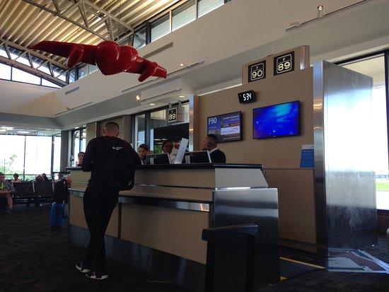 British Airways: Tampa boarding gate
