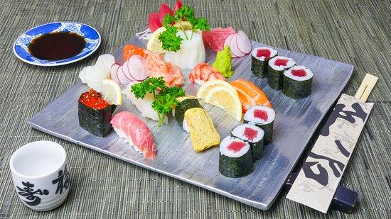 Hasekura: sushi sashimi