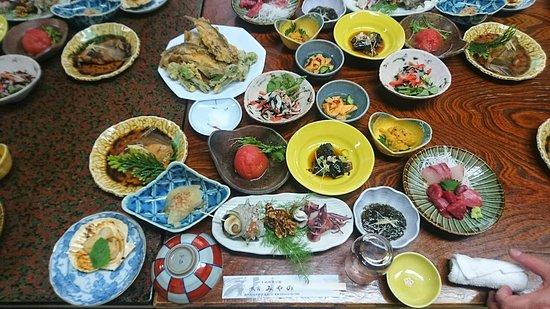 Sai-mura, Ιαπωνία: 夕食の内容になります。