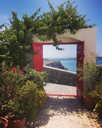 Aigialos Hotel: Entrance to the reception
