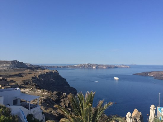 Aigialos Hotel: View from our terrace