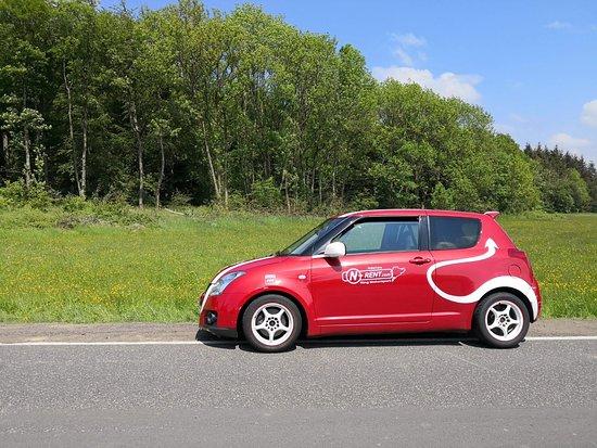 Adenau, Germany: Suzuki Swift brilliant car