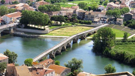 Cathédrale Saint-Nazaire de Béziers: Le pont vieux