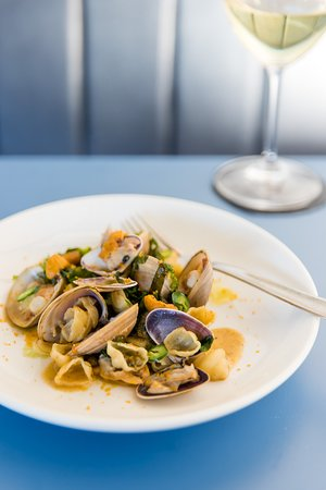 Rocker: Orecchiette, clams, urchin butter
